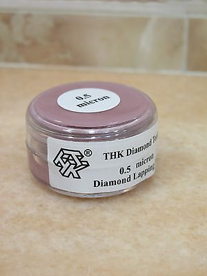 1 bottle THK 0.5 micron Diamond polishing lapping paste pastes compound 20 Gram