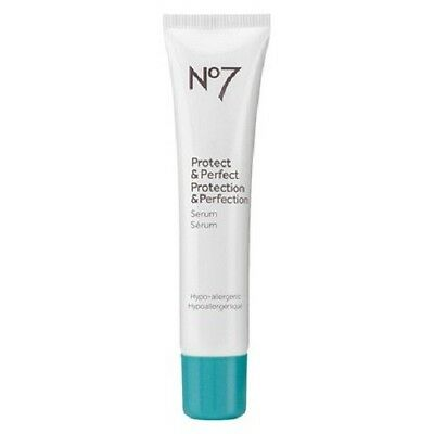 NEW Boots No 7 Protect & Perfect Beauty Serum - 1 Fl. Oz. (30 ml) Full Size