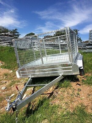 Tandem Trailer 10x5ft /1000 mesh cage GalvanizedBbrand New