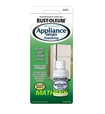 Rustoleum White Specialty Appliance Touch-Up Paint Rust-Oleum Repair Chips