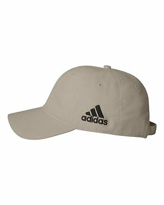 New Adidas Golf Mens Adjustable A12 Cotton Crest Twill Cap Unstructured Ball Hat