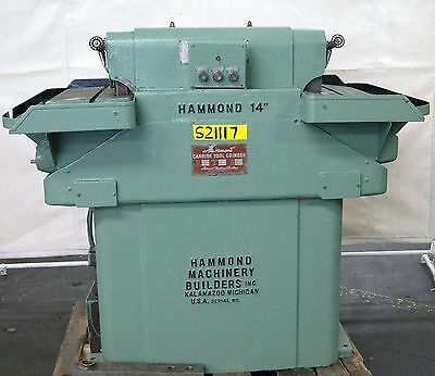 "HAMMOND 14"" Tool Grinder 