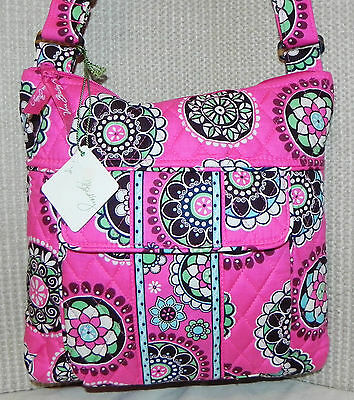 VERA BRADLEY Cupcake Pink Large HIPSTER Cross Body BAG NEW WITH TAG!