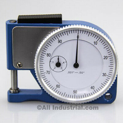 "Pocket Thickness Gage 0-0.050"" Range 0.001"" Graduation Dial Indicator Gauge"
