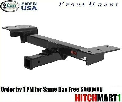 FITS 1999-2003 FORD F150 4WD W/ FACTORY TOW HOOKS, FRONT MOUNT TRAILER HITCH  2""