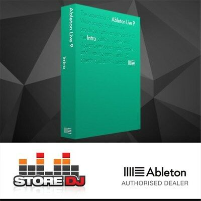 Ableton Live 9 Intro Music Production Software w/ FREE Update to Version 10 in F
