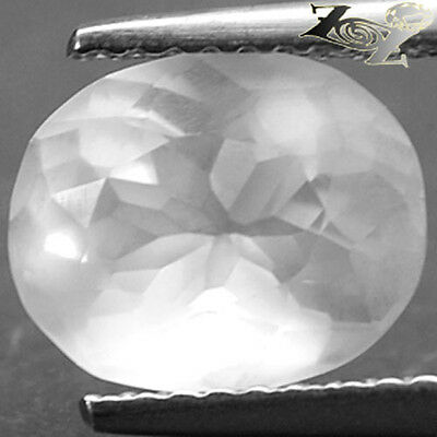 2.35 Ct.Full Fire VVS 1 Natural Oval 8*10 mm. Holy White Afganistan Silverite