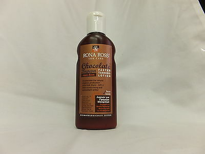 Rona Ross Chocolate Brown Faster Tanning Lotion  SPF 2 (160ml) EXPRESS P&P
