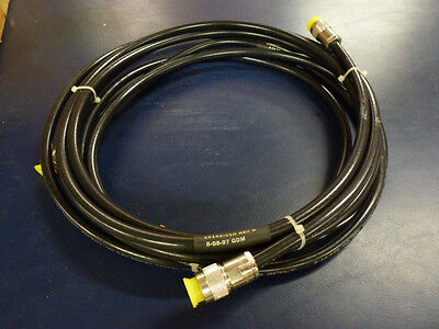 Ultralink 93605 RG213/U Type Coaxial Cables 10FT with N Male Connectors p/n13142