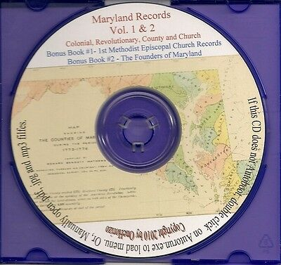 Maryland Records from Original Sources - MD Genealogy