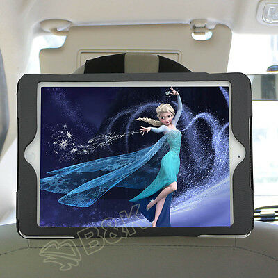 PU Leather Car Seat Headrest Mount Holder Strap Case for iPad Air iPad Pro 9.7""