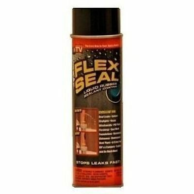 New Flex Seal Fsr20 Black Large 14Oz  Can Liquid Rubber Sealant As Seen On Tv