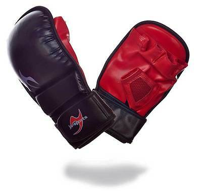 Ju-Sports Freefight Handschuh MMA Allround, weiches Polster,  Sparringshandschuh