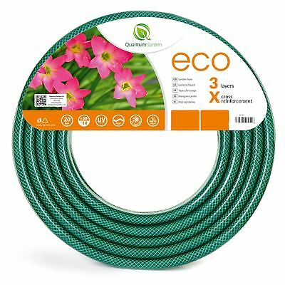 15 , 20 , 30 , 50 m REINFORCED GARDEN HOSE PIPE TUBE WATERING - ECONOMIC