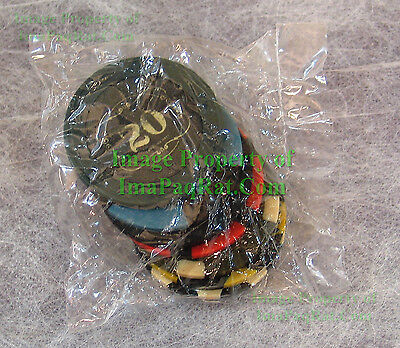 """FALLOUT New Vegas Collector's Edition """"Lucky 7 Poker Chips"""" NEW Sealed!"""