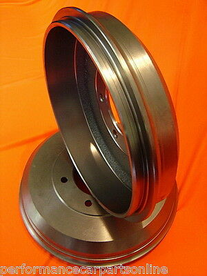 Holden Rodeo RA Without High Ride Suspension REAR Brake Drums DRUM4098 PAIR