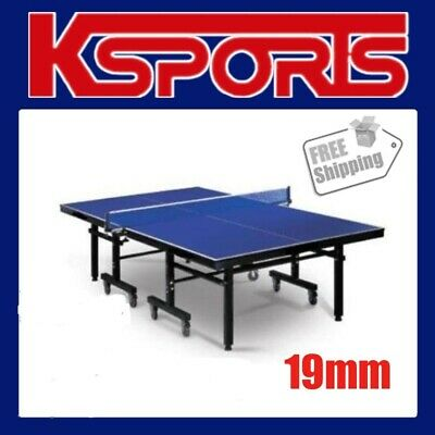 Table Tennis Ping Pong Table Pro Size 19Mm Top - Professional Size