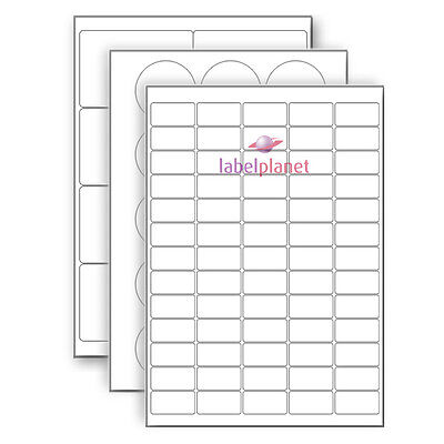 A4 Matt White Polyester REMOVABLE Laser Print Labels Self-Adhesive Label Planet