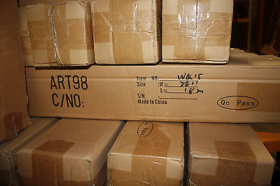 "36""x58' LOT OF 4 ROLLS Matte Water resistant Inkjet giclee printing canvas"