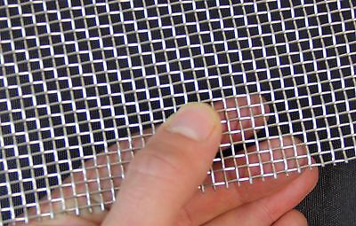 #6 Heavy -Stainless Steel Mesh - 3.3mm Hole -0.9mm Wire - A4 Sheet 210mm x 300mm