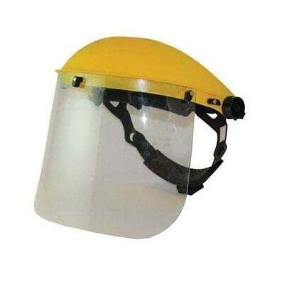 140863 Silverline Face Shield & Visor Clear DIY Safety and Workwear Tool