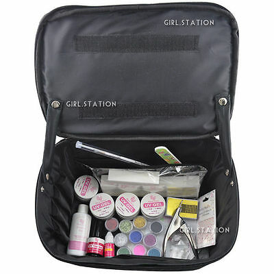 Professional Vanity Case Bag Cosmetic Make Up Beauty Box Gift Set 87 Piece 288J