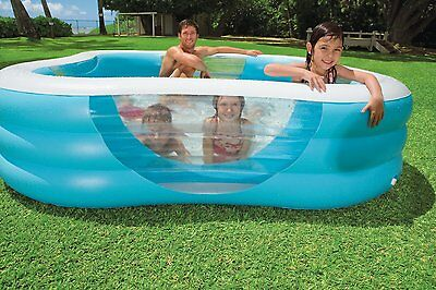 Intex Schwimm Center Family Pool mit vier Fenster 57495