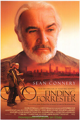 FINDING FORRESTER MOVIE POSTER Original 27x40 SEAN CONNERY