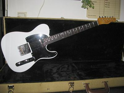 Fender Telecaster Licensed Parts Custom Made  Oly White Ala Rick Parfitt !!