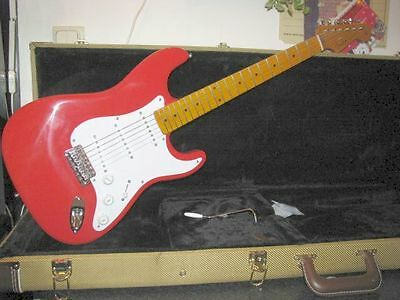 Fender stratocaster Fiesta Red Licensed parts Hank Marvin/Mark Knopler style