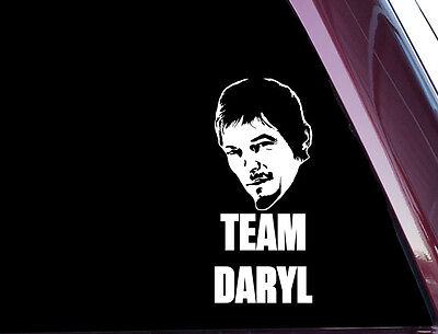 TEAM DARYL - The Walking Dead - DIE CUT Decal / Sticker NOT PRINTED (A-98)