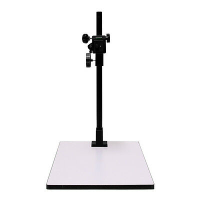 Copy/Macro Stand 23 inch High 14x16 base, Quick Release Mount and Bubble Level