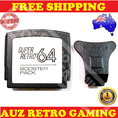 NEW N64 Booster Jumper Pack PAK For NINTENDO 64 Console N64 Expansion Slot