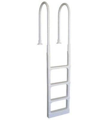 "Main Access 200300 Pro Series White In-Pool Ladder for 48"" to 54"" Pool"