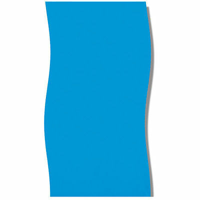 "Swimline LI123610 12'x36"" Round Solid Blue Above Ground Liner"