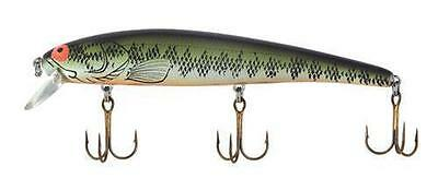 """BOMBER LURES LONG A 1/2 OZ. 4-1/2"""" BABY BASS ORANGE BELLY B15AXBBO"""