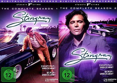 9 DVDs * STINGRAY - STAFFEL / SEASON 1 + 2 IM SET # NEU OVP ""