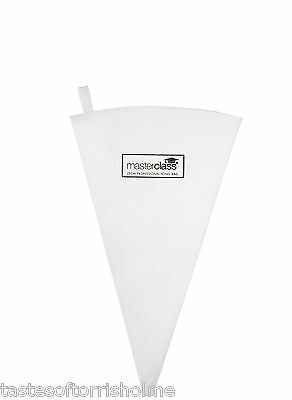 Masterclass 25cm Catering Professional Lined 100% Cotton Icing / Food Piping Bag
