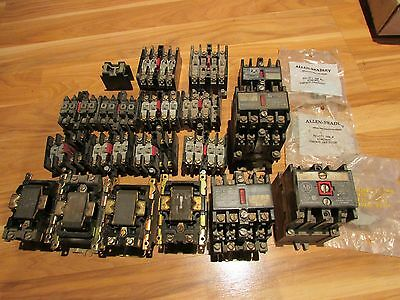 Large Lot of Allen Bradley Parts. 700-NA40 + 84AB86 And More. Used.