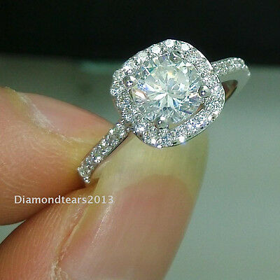 Size 5/6/7/8//9 jewelry 18k white gold plated AAA Cubic Zirconia CZ Women Ring
