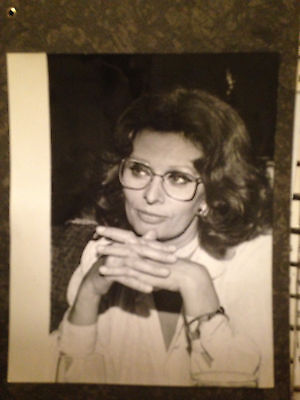 Vintage Original Press Photo Sophia Loren by Ralph Dominguez