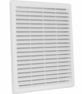"""Air Vent Grille Cover 300x300mm (12x12"""") WHITE Ventilation Grill Cover"""