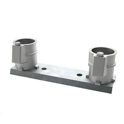 "Perma-Cast PC3008A 3"" Deck Aluminum Anchor Channel Mount Set PC-3008-A"