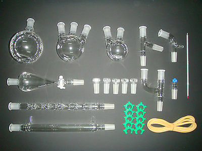 New advanced chemistry lab glassware kit,24/40