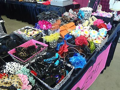Wholesale Lot Hair Accessories Over 3000 Pieces Start Your Own Business