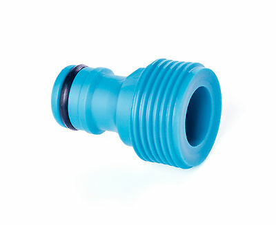 "Hozelock Compatible TAP CONNECTOR 1/2"" MALE WATER Garden Fitting Accessory Pipe"