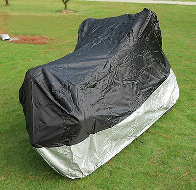 L Large Waterproof Outdoor Motorcycle Motorbike Cruiser Bike Scooter Cover ZM1BS
