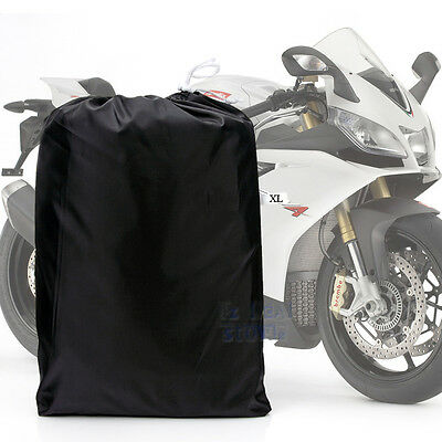 XL Waterproof Motorcycle Motorbike Motocross Scooter Bikes Cover Protector ZM3BS