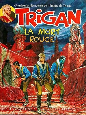 Rare Eo  Don Lawrence + Mike Butterworth + Trigan N°2 : La Mort Rouge