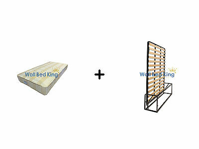 King Size Wall bed- WITH ORTHOPAEDIC MATTRESS (Wallbed Murphy bed Pull-out bed)